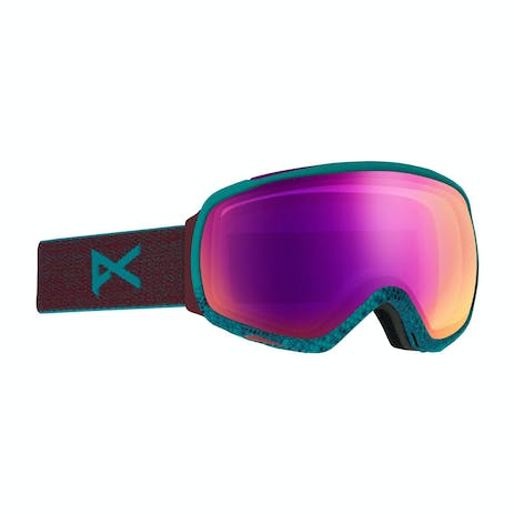 Anon Tempest Women's Snowboard Goggle 2020 - Shimmer / Sonar Pink
