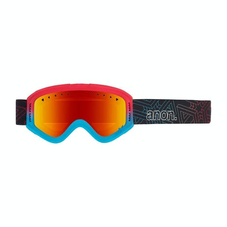 Anon Tracker Youth Snowboard Goggle 2020 - Impossible / Red Amber
