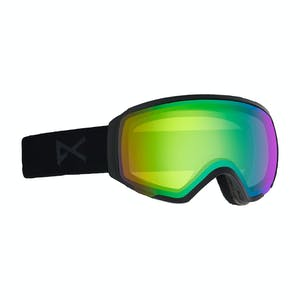Anon WM1 MFI Asian Fit Women's Snowboard Goggle 2020 - Smoke / Sonar Green + Spare Lens