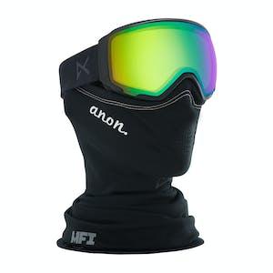Anon WM1 MFI Women's Snowboard Goggle 2020 - Smoke / Sonar Green + Spare Lens