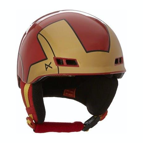 Anon x Marvel Burner Youth Snowboard Helmet - Iron Man
