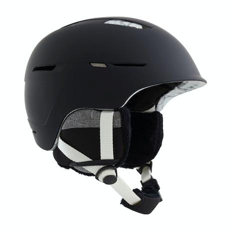 Anon Auburn Women's Snowboard Helmet 2021 - Marble Black