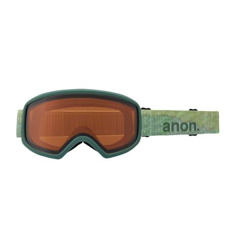 Anon Deringer MFI Women's Snowboard Goggle 2021 - Camo / Perceive Sunny Onyx + Spare Lens