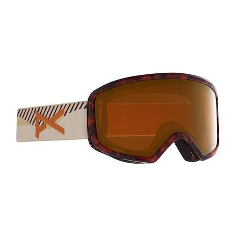 Anon Deringer MFI Women's Snowboard Goggle 2021 - Tort 3.0 / Perceive Sunny Bronze + Spare Lens