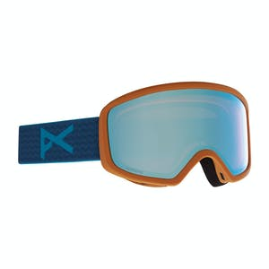 Anon Deringer Women's Snowboard Goggle 2021 - Blue / Perceive Variable Blue + Spare Lens