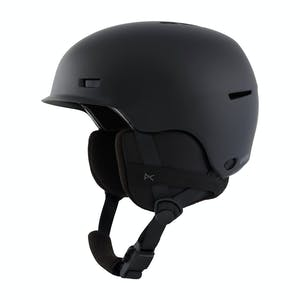 Anon Flash Youth Snowboard Helmet 2021 - Black