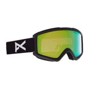 Anon Helix 2.0 Snowboard Goggle 2021 - Black/Perceive Variable Green + Spare Lens