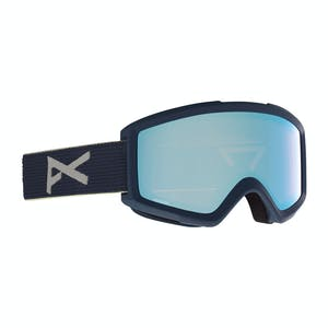 Anon Helix 2.0 Asian Fit Snowboard Goggle 2021 - Blue / Perceive Variable Blue
