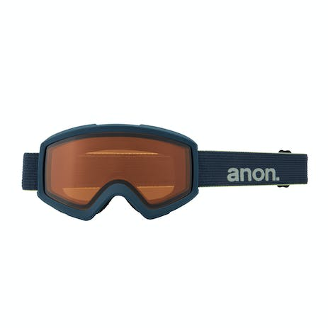 Anon Helix 2.0 Snowboard Goggle 2021 - Blue / Perceive Variable Blue + Spare Lens