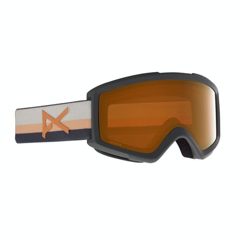 Anon Helix 2.0 Snowboard Goggle 2021 - Rising / Perceive Sunny Bronze + Spare Lens