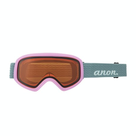 Anon Insight Women's Snowboard Goggle 2021 - Gray Pop / Perceive Cloudy Pink