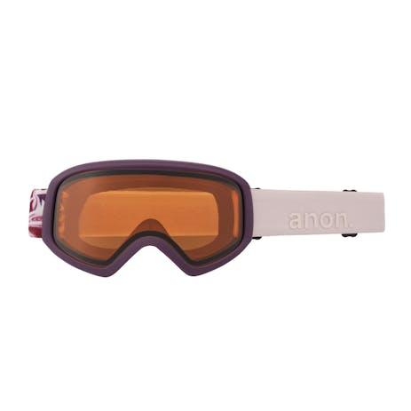 Anon Insight Women's Snowboard Goggle 2021 - Wavy / Perceive Sunny Onyx