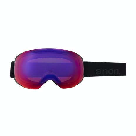 Anon M2 Asian Fit Snapback Snowboard Goggle 2021 - Smoke / Perceive Sunny Onyx + Spare Lens