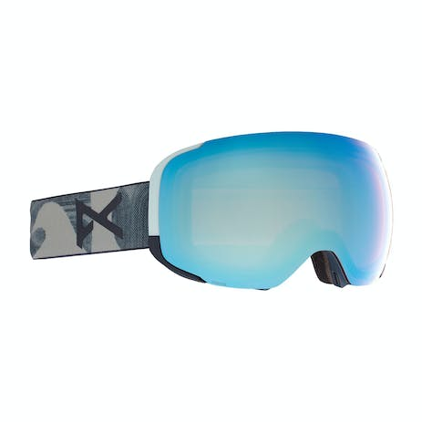 Anon M2 MFI Snowboard Goggle 2021 - Ty Williams / Perceive Variable Blue + Spare Lens