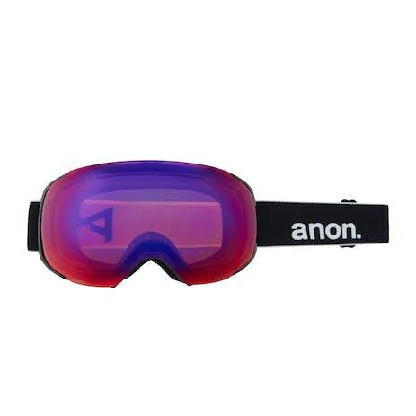 Anon M2 Polarized Snowboard Goggle 2021 - Black / Polar Smoke + Spare Lens
