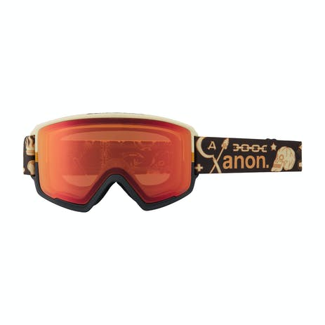 Anon M3 Asian Fit MFI Snowboard Goggle 2021 - Sheridan / Perceive Sunny Bronze + Spare Lens