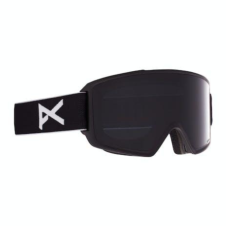 Anon M3 Polarized Snowboard Goggle 2021 - Black / Polar Smoke + Spare Lens