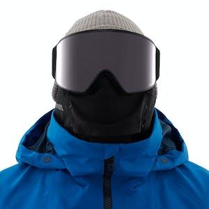 Anon M4 Cylindrical MFI Snapback Snowboard Goggle 2021 - Smoke / Perceive Sunny Onyx + Spare Lens