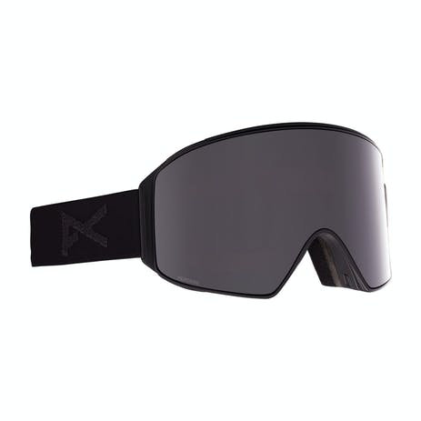 Anon M4 Cylindrical MFI Snowboard Goggle 2021 - Smoke / Perceive Sunny Onyx + Spare Lens