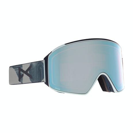 Anon M4 Cylindrical MFI Snowboard Goggle 2021 - Ty Williams / Perceive Variable Blue + Spare Lens