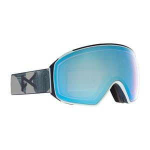 Anon M4 Asian Fit Toric Snowboard Goggle 2021 - Ty Williams / Perceive Variable Blue + Spare Lens