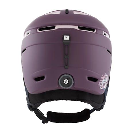 Anon Omega Women's Snowboard Helmet 2021 - Purple