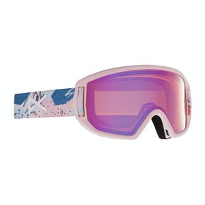 Anon Relapse Jr. MFI Youth Snowboard Goggle 2021 - Pastel Pink / Pink Amber
