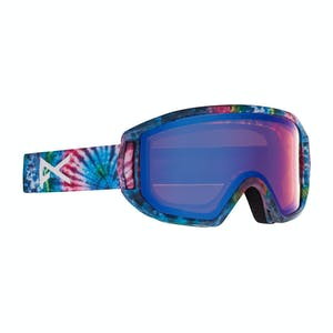 Anon Relapse Jr. MFI Youth Snowboard Goggle 2021 - Tie Dye / Blue Amber