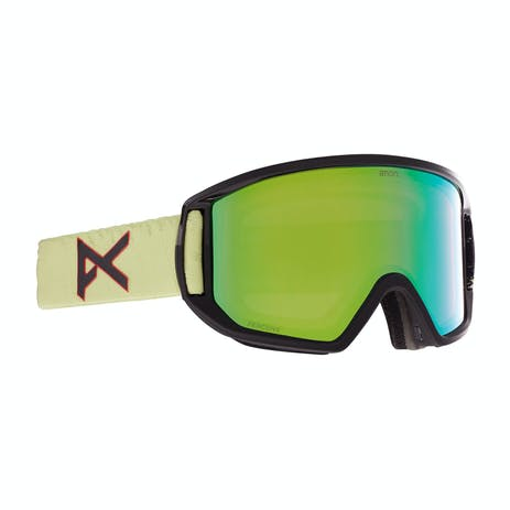 Anon Relapse MFI Snowboard Goggle 2021 - Ce Green / Perceive Variable Green + Spare Lens