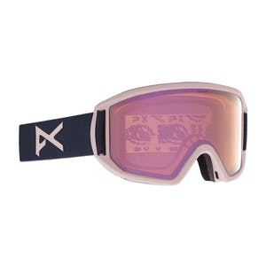 Anon Relapse MFI Snowboard Goggle 2021 - Pat Rogash / Perceive Cloudy Pink + Spare Lens