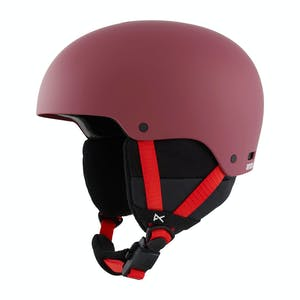 Anon Rime 3 Youth Snowboard Helmet 2021 - Doodle Red