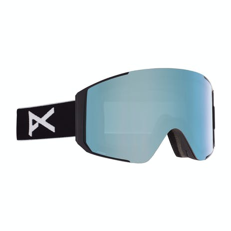 Anon Sync Asian Fit Snowboard Goggle 2021 - Grey / Perceive Variable Blue + Spare Lens