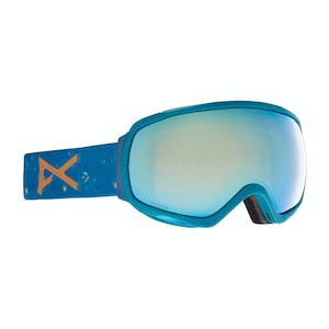 Anon Tempest Women's Snowboard Goggle 2021 - Floral / Perceive Variable Blue