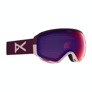 Anon WM1 MFI Women's Snowboard Goggle 2021 - Purple / Perceive Variable Violet + Spare Lens