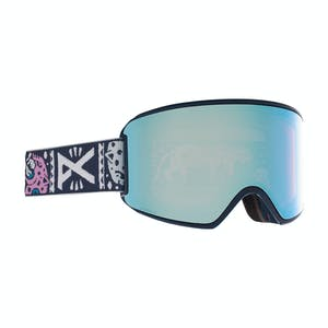 Anon WM3 MFI Women's Snowboard Goggle 2021 - Noom / Perceive Variable Blue