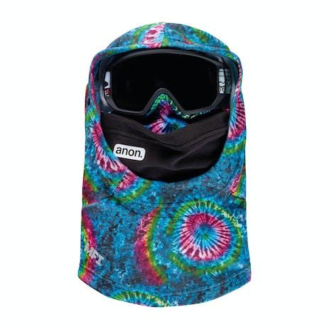 Anon MFI Youth Hooded Helmet Balaclava 2021 - Tie Dye