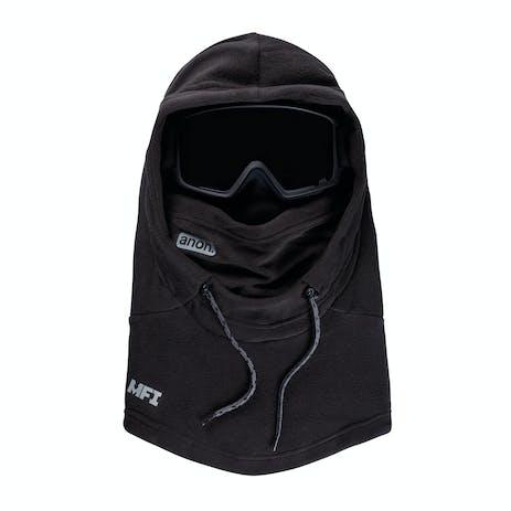 Anon MFI Hooded Helmet Fleece Balaclava 2021 - Black