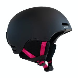 Anon Greta Women's Snowboard Helmet - Black / Pink