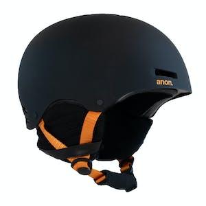 Anon Raider Snowboard Helmet - Black/Orange