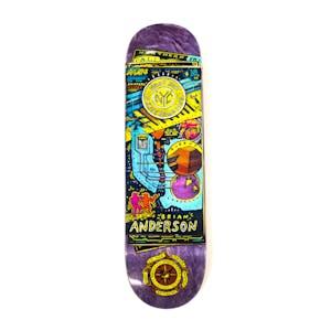 "Antihero Maps to Skaters Homes 8.75"" Skateboard Deck - Anderson"