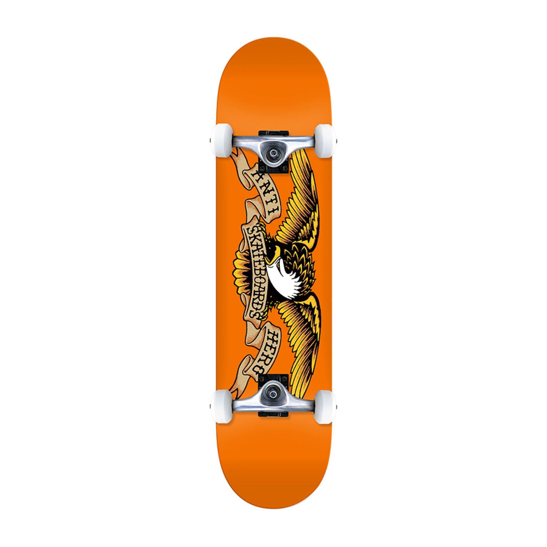 Antihero Classic Eagle 775 Complete Skateboard Orange
