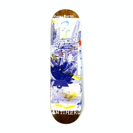 "Antihero Raney SF Then & Now 8.125"" Skateboard Deck"