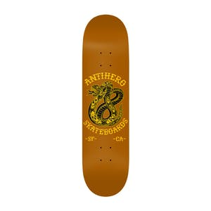 "Antihero Eighteen 8.5"" Skateboard Deck - Brown"