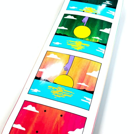 Real Silva Sunset Skateboard Deck