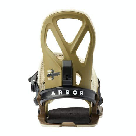 Arbor Hemlock Snowboard Bindings 2020 - Frank April