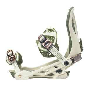 Arbor Cypress Snowboard Bindings 2021 - Bone