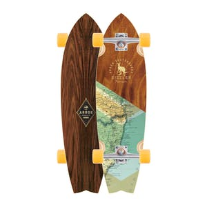 Arbor Sizzler Premium Complete Skateboard - Groundswell