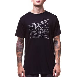Arbor Shaving Bamboo T-shirt - Black