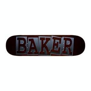 "Baker Rowan Ribbon Name 8.5"" Skateboard Deck - Black"