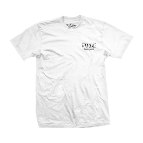 Baker Brand Logo Dubs T-Shirt - White